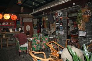 Salah satu sudut ruangan di Mixhostel, Chengdu (HJ)