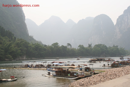 Dermaga Sungai Li di Guilin